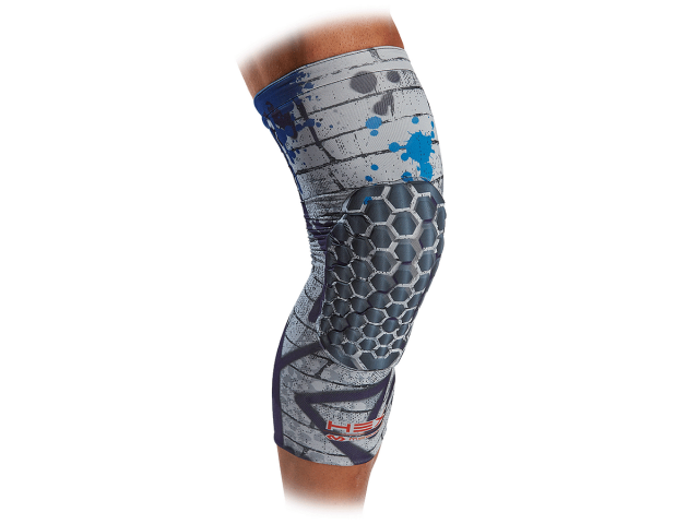 McDavid Hex Reversible Leg Sleeve - Компрессионный наколенник с защитой(2 штуки, двухсторонние)