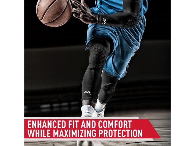 McDavid Extended Compression Leg Sleeve with Hexpad - Компрессионный Наколенник с Защитой(2 штуки)