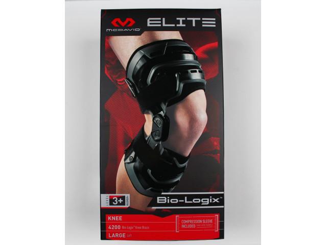 McDavid Elite Bio-Logix™ Knee Support Brace - Укрепляющий наколенник (Левый)