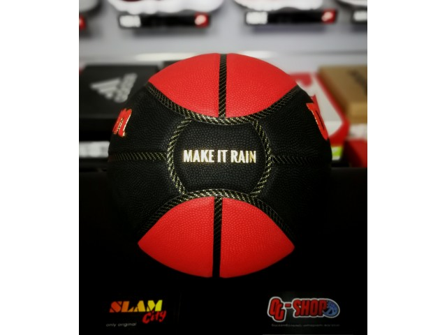 Wilson Red Bull Reign Reg Season Basket - Универсальный Баскетбольный Мяч